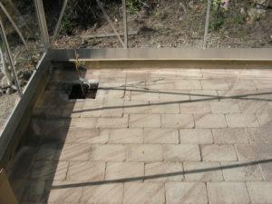Golvet i växthuset