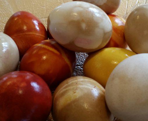 Färgade ägg