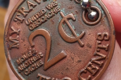 My Traveling 2 Cents - Antique Copper