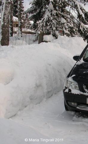 Mycket snö i år!