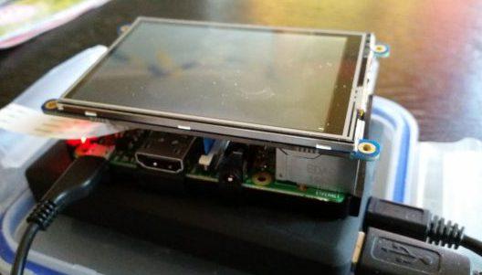 Raspberry Pi med touch-skärm